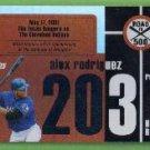 2007 Topps Baseball Road to 500 Alex Rodriguez (Rangers) #ARHR203