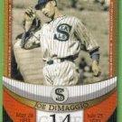 2007 Topps Baseball The Streak Before the Streak Joe DiMaggio (Seals) JDSF14