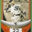 2007 Topps Baseball The Streak Before the Streak Joe DiMaggio (Seals) JDSF33