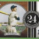 2007 Topps Baseball The Streak Joe DiMaggio (Yankees) JD24