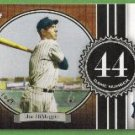 2007 Topps Baseball The Streak Joe DiMaggio (Yankees) JD44