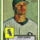 2007 Topps 52 Rookie Edition Chrome Refractor Rookie Jerry Owens (White Sox) #TCRC15 (#'d 042/552)