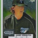 2007 Topps 52 Rookie Edition Chrome Rookie Jamie Vermilyea (Blue Jays) #TCRC75 (#'d 0650/1952)