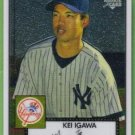 2007 Topps 52 Rookie Edition Chrome Rookie Kei Igawa (Yankees) #TCRC53 (#'d 1004/1952)