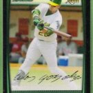 2008 Bowman Draft Picks & Prospects Rookie Carlos Gonzalez (Athletics) #BDP19