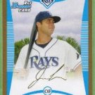 2008 Bowman Draft Picks & Prospects Gold Jake Odorizzi (Brewers) #BDPP51