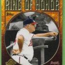 2009 Topps Baseball Ring of Honor Bobby Cox Mgr (Braves) #RH71
