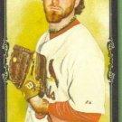 2009 Topps Allen & Ginter Baseball Mini Black Border Rookie Jason Motte (Cardinals) #157