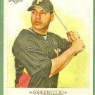 2009 Topps Allen & Ginter Baseball SP Short Print Rookie Jordan Schafer (Braves) #339