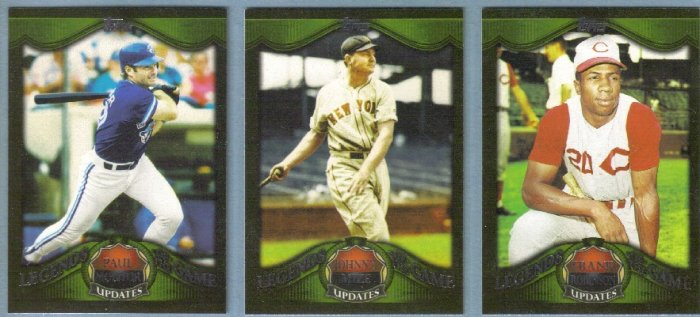 2009 Topps Update & Highlights Legends of the Game Johnny Mize (Yankees) #LGU10
