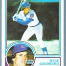 2010 Topps Baseball The Cards Your Mom Threw Out TCYMTO Ryne Sandberg (Cubs) #CMT-32