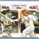 2010 Topps Baseball Legendary Lineage Babe Ruth & Alex Rodriguez (Yankees) #LL3