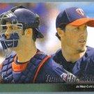 2010 Upper Deck Baseball Minnesota Twins Team Checklist w/ Joe Mauer (Twins) #587