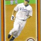 2010 Bowman Baseball Orange Kyle Banks (Padres) #119 #'d 050/250