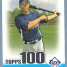 2010 Bowman Baseball Topps 100 Rookie Lars Anderson (Red Sox) #69