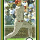 2010 Bowman Baseball Gold Rookie David Herndon (Phillies) #194