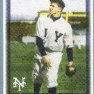 2010 Topps Baseball Vintage Legends Christy Mathewson (NY Giants) #VLC33