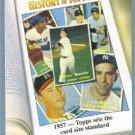 "2011 Topps Baseball History of Topps ""1957 Topps Sets the Card Size Standard"" #HOT-4"