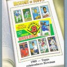 "2011 Topps Baseball History of Topps ""1989 Topps Reintroduces Bowman"" #HOT-7"