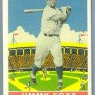 2011 Topps Baseball Vintage Reproductions Jimmie Foxx (Philadelphia Athletics) #CMGR-16