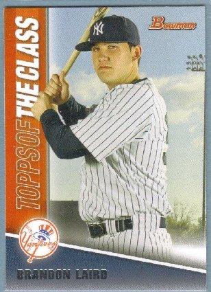 2011 Bowman Baseball Topps of the Class Brandon Laird (Yankees) #TC13