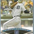 2011 Bowman Baseball Finest Futures Austin Jackson (Tigers) #FF16