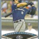 2011 Bowman Baseball Finest Futures Ryan Braun (Brewers) #FF18