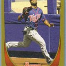 2011 Bowman Baseball GOLD Denard Span (Twins) #177