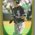 2011 Bowman Baseball GOLD Rookie Brent Morel (White Sox) #196