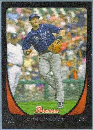 2011 Bowman Baseball Johnny Damon (Rays) #169
