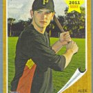 2011 Topps Heritage Baseball Rookie Alex Presley (Pirates) #86