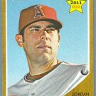 2011 Topps Heritage Baseball Rookie Jordan Walden (Angels) #194