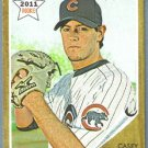 2011 Topps Heritage Baseball Rookie Casey Coleman (Cubs) #224