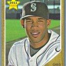 2011 Topps Heritage Baseball Rookie Greg Halman (Mariners) #362