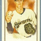 2011 Topps Allen & Ginter Baseball Mini SP Short Print Zack Greinke (Brewers) #345