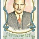 "2011 Topps Allen & Ginter Baseball Mini Portraits of Penultimacy ""Thomas E Dewey"" (Candidate) #PP9"