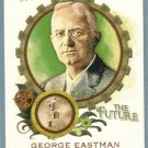"""2011 Topps Allen & Ginter """"Minds That Made the Future"""" George Eastman (Photography) #MMF38"""
