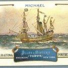 "2011 Topps Allen & Ginter Baseball ""Floating Fortresses"" Michael #FF4"