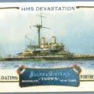 "2011 Topps Allen & Ginter Baseball ""Floating Fortresses"" HMS Devastation #FF18"