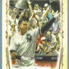 "2011 Topps Allen & Ginter Baseball ""Baseball Highlights Sketches"" Alex Rodriguez (Yankees) #BHS20"