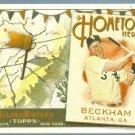 2011 Topps Allen & Ginter Baseball Hometown Heroes Gordon Beckham (White Sox) #HH36