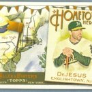 2011 Topps Allen & Ginter Baseball Hometown Heroes David DeJesus (Athletics) #HH41