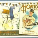 2011 Topps Allen & Ginter Baseball Hometown Heroes Jim Thome (Twins) #HH82