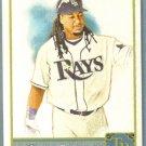 2011 Topps Allen & Ginter Baseball Short Print SP Hi Number Manny Ramirez (Rays) #316