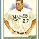 2011 Topps Allen & Ginter Baseball Short Print SP Hi Number Mike Stanton (Marlins) #325