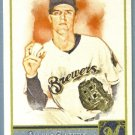 2011 Topps Allen & Ginter Baseball Short Print SP Hi Number Zack Greinke (Brewers) #345
