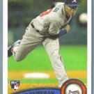 2011 Topps Update Baseball Rookie Julio Teheran (Braves) #US152