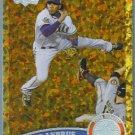 2011 Topps Update Baseball COGNAC Gold Sparkle Elvis Andrus (Rangers) #435