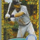 2011 Topps Update Baseball COGNAC Gold Sparkle Franklin Gutierrez (Mariners) #477
