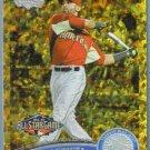 2011 Topps Update Baseball COGNAC Gold Sparkle All Star HRD Jose Bautista (Blue Jays) #US80